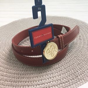 Tommy Hilfiger Red Hip Belt - S